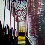 Cathedral (oil painting), 2018